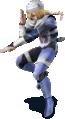 Sheik in Super Smash Bros. for Nintendo 3DS / Wii U.