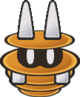 Sprite of a Spania from Paper Mario: The Thousand-Year Door.