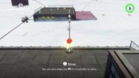 The spark pylon bonus area in Super Mario Odyssey