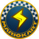 The Icon of the Lightning Cup for Mario Kart Live: Home Circuit