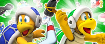 The Hammer Bro Pipe 1 from the Hammer Bro Tour in Mario Kart Tour