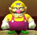 Wario as viewed in the Character Museum from Mario Party: Star Rush