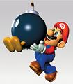 Mario Holding Bomb Artwork - Super Mario 64.png