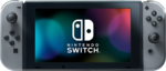 The Nintendo Switch in Handheld Mode