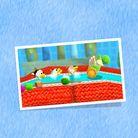 Preview for a Poochy & Yoshi's Woolly World Play Nintendo opinion poll. Original filename: <tt>1x1_PYWWPoll01PoochyPups_v02_tfleqAq.a25bebd1.jpg</tt>