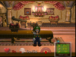 Sealed Room from Luigi's Mansion