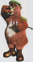 Artwork of Bazooka from Donkey Kong Country 3: Dixie Kong's Double Trouble!
