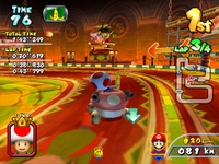 Bowser's Castle from Mario Kart Arcade GP 2