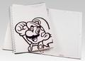 Club Nintendo - Mario Notepad.png