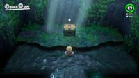 The locked treasure room in the Deep Woods in Super Mario Odyssey