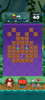 Stage 325 from Dr. Mario World