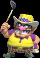 Artwork of Wario in Mario Golf: Super Rush