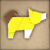 PMTOK Origami Toad 39 (Yellow Dog).png