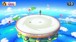 Bouncy Brawl, from Mario Party 10.