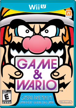 North American box cover for Game & Wario