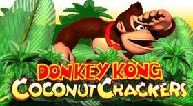 Artwork featuring Donkey Kong for Donkey Kong Coconut Crackers