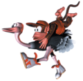 Diddy and Expresso - Artwork - Donkey Kong Country.png
