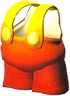 Artwork of the Fire Shirt from Super Mario RPG: Legend of the Seven Stars