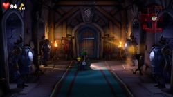 The Hall of Armor in Castle MacFrights