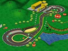 <small>GCN</small> Luigi Circuit