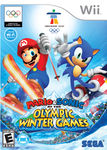 North American Box cover for Mario and Sonic at the Olympic Winter Games