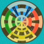 Map of the 2 or 3 player Chase Arena in Mario Chase.