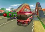 The icon for Mushroom Bridge, from Mario Kart Double Dash!!.