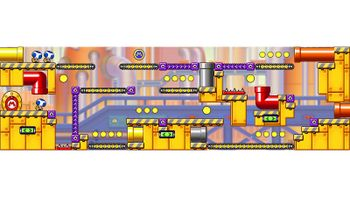 Miiverse screenshot of the 18th official level in the online community of Mario vs. Donkey Kong: Tipping Stars