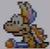 Lemmy Koopa icon in Super Mario Maker 2 (Super Mario World style)