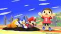 Challenge 16 from the second row of Super Smash Bros. for Wii U