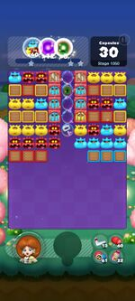 Stage 1050 from Dr. Mario World
