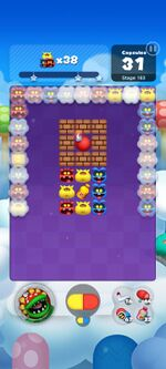 Stage 163 from Dr. Mario World since March 18, 2021