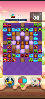 Stage 443 from Dr. Mario World