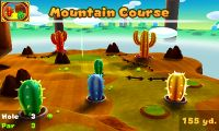 Hole 3 of Mountain Course in Mario Golf: World Tour