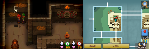 Location of the first hidden block in Oho Oasis.