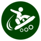 Event icon used for Dream Racing in Mario & Sonic at the Olympic Games Tokyo 2020