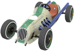 The Dasher II from Mario Kart Tour