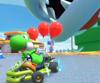 The icon of the Peachette Cup challenge from the Holiday Tour and the Wario Cup challenge from the Mario vs. Luigi Tour in Mario Kart Tour