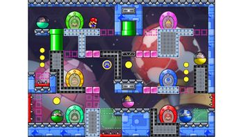 Miiverse screenshot of the 85th official level in the online community of Mario vs. Donkey Kong: Tipping Stars