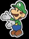 Luigi in Paper Mario: The Origami King