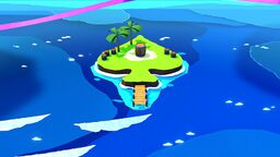 Spade Island in Paper Mario: The Origami King