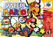 North American boxart for Paper Mario
