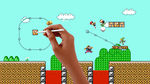 Super Mario Maker stage in Super Smash Bros. for Wii U.
