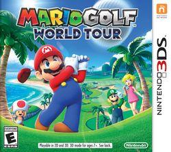 Box art for Mario Golf: World Tour
