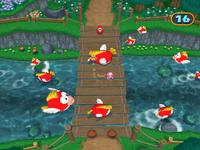 Wario in Bridge Work from Mario Party 7