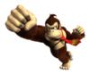 A sticker of Donkey Kong
