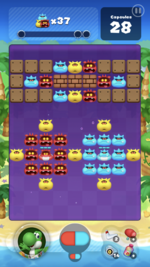 Stage 107 from Dr. Mario World