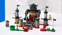 The LEGO Super Mario set Bowser's Castle Boss Battle.