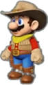 Mario's Cowboy Outfit icon in Mario Kart Live: Home Circuit