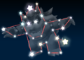 Bowser's constellation in the game Mario Party 9.